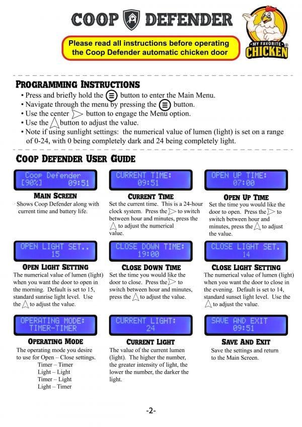Coop Defender Instructions Pg 2