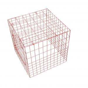 square chicken breeding pen