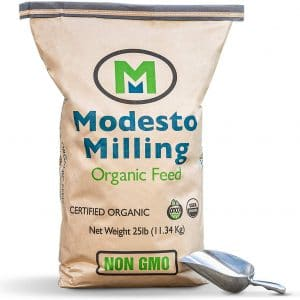 modesto milling organic poultry feed