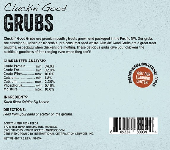 grubs ingredients