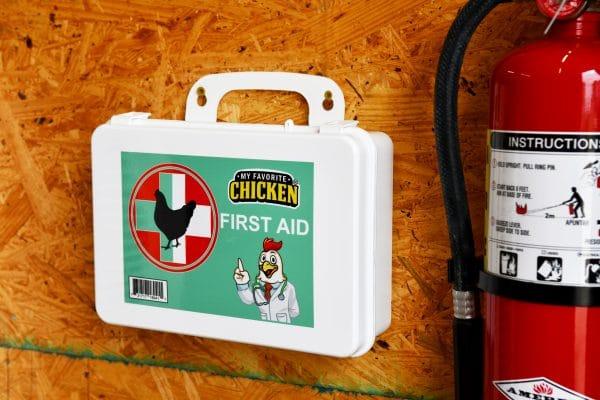 chicken first aid kit