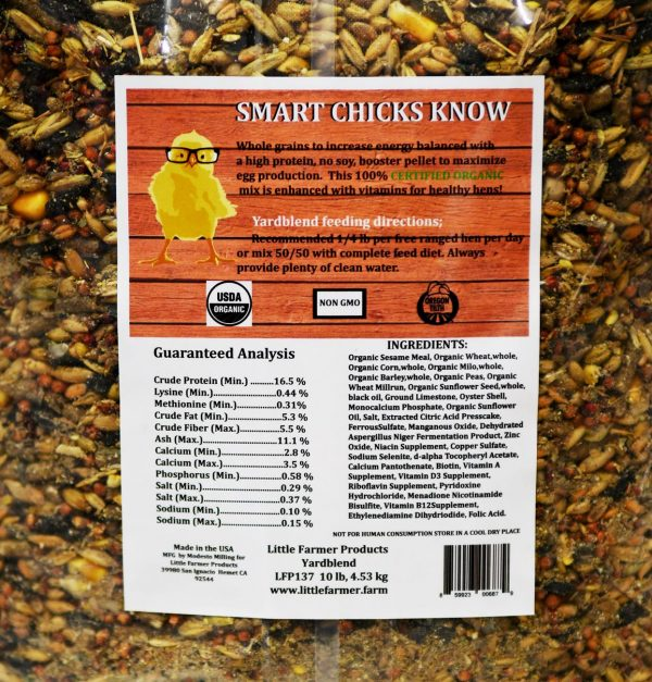 yardblend label
