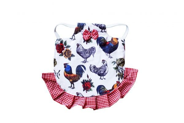 red hen saddle front