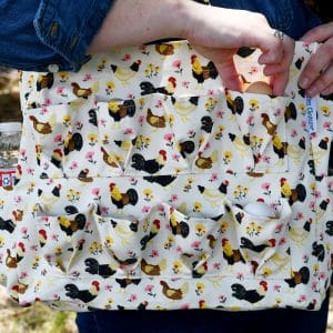 egg collecting bag