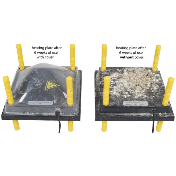 heating plate cover comparison