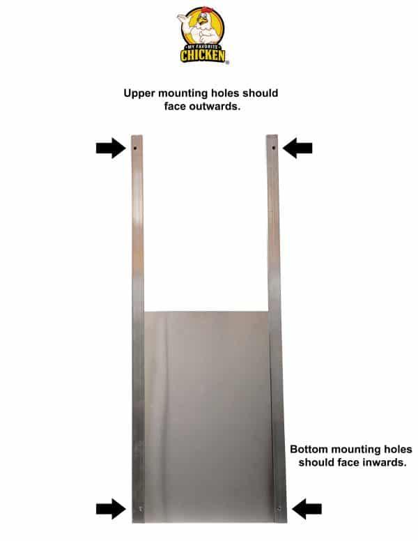 metal door instructions