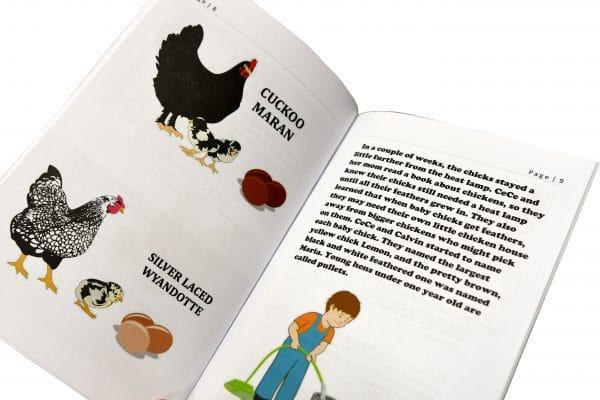 inside chickens book