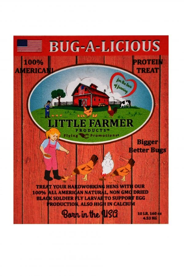 bug a licious 10 lb label